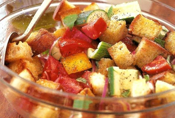 Barefoot Contessa Salad Recipes barefoot contessa panzanella recipe | leite's culinaria
