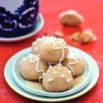 Gingerbread Butter Drops with Lemon Glaze