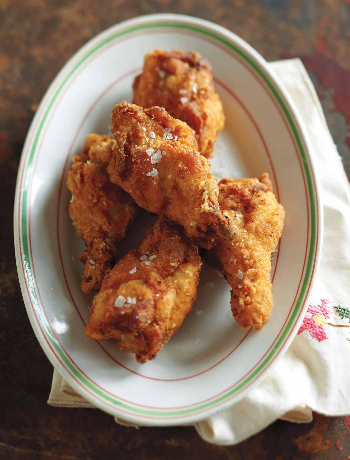 Southern Fried Chicken Wings Recipe