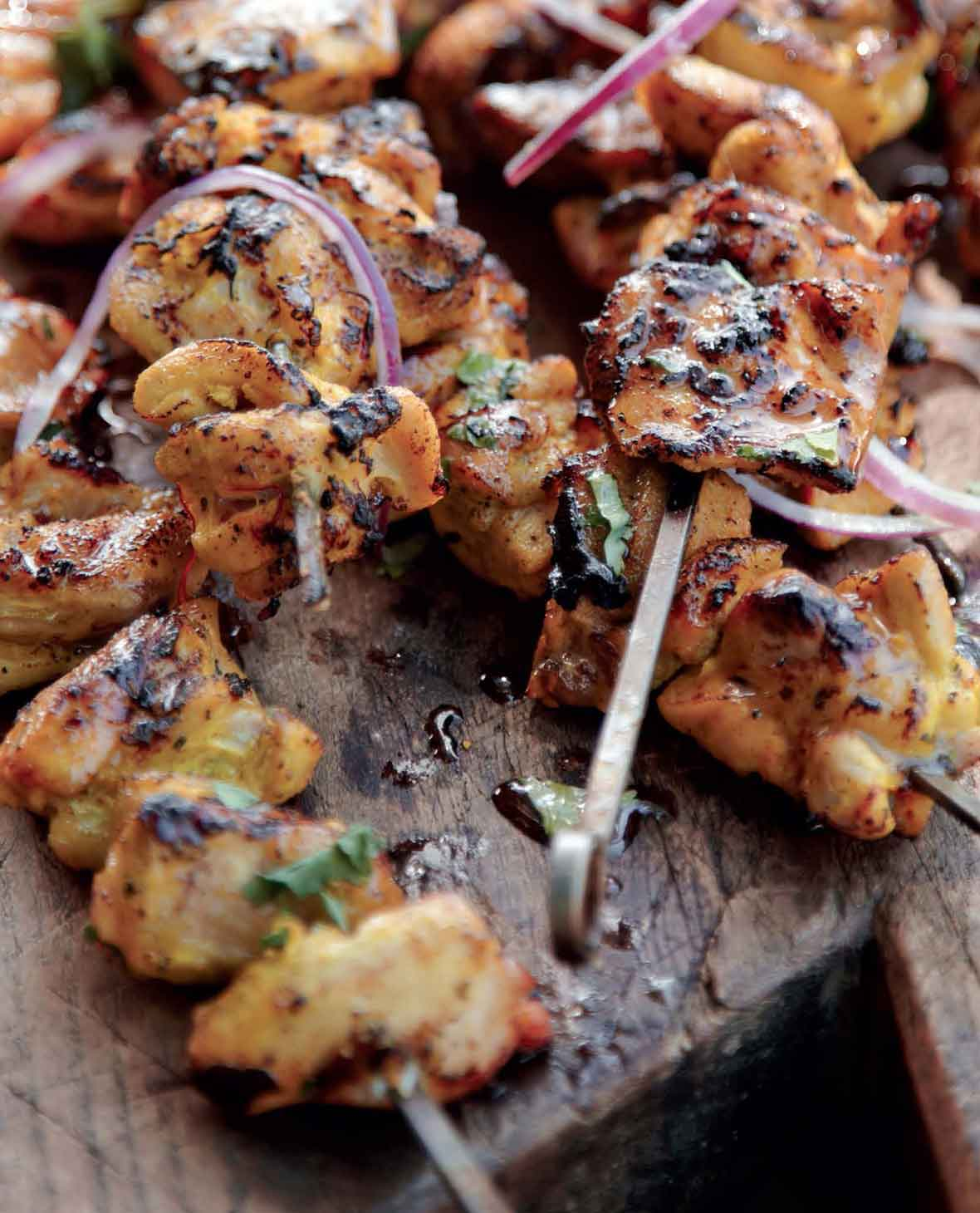 How long do i grill chicken skewers - Chicken Skewers Recipe
